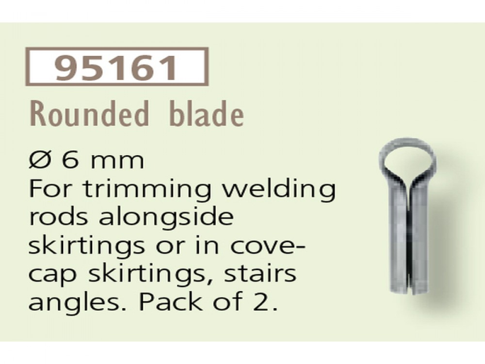 ROUNDED BLADE