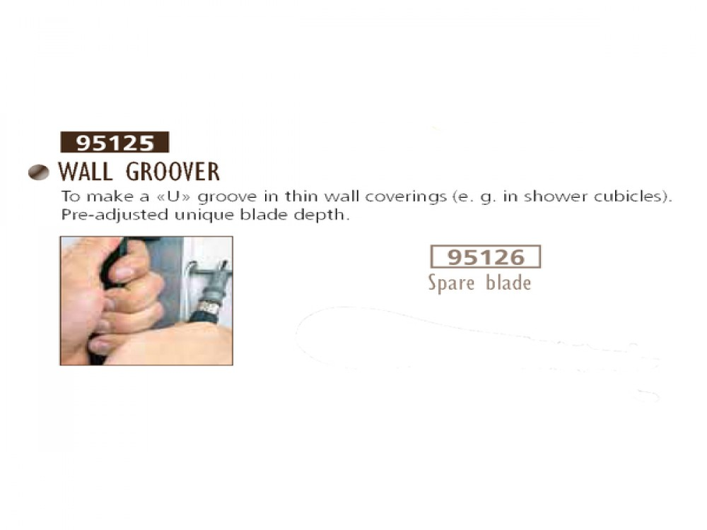 WALL GROOVER